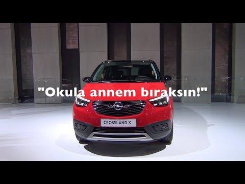 Opel Crossland X ile 100 saniye