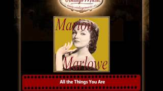 Marion Marlowe – All the Things You Are