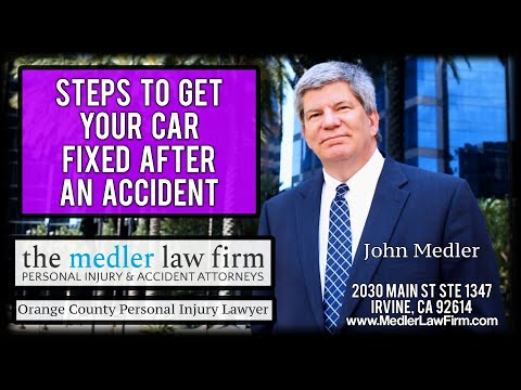 Steps To Get Your Car Fixed After An Accident