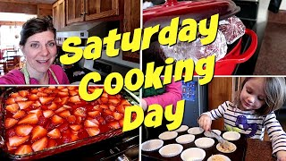 🗓The Perfect Saturday   Cooking and Meal Prep for the Week🍲