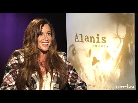 Alanis Morissette Looks Back On 20 Years Of 'Jagged Little Pill' With GRAMMY Pro