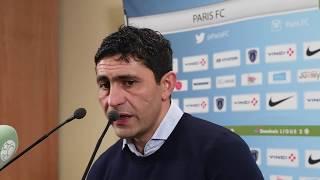 Après Paris FC - HAC (1-0), réaction d'Oswald Tanchot