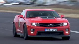 Chevrolet Camaro ZL1 vs Dodge Challenger Hellcat vs Nissan GT-R vs Corvette C7