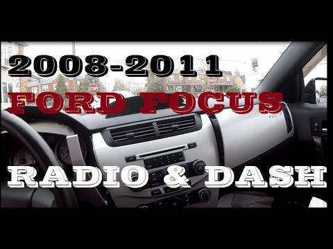 How To Remove Dash To Get To Radio In Ford Focus 2008-2011