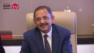 Mehmet Özhaseki devir teslim konuşması