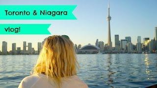 Toronto & Niagara Falls Travel Vlog!  | EmTalks