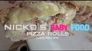 STUFFED PIZZA ROLLS - Kids Recipe Thumbnail