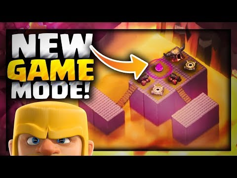 Clash of Clans | NEW GAME MODE + NEW MAP on a SUPER BASE - Clash of Clans Update Concept Idea 2018