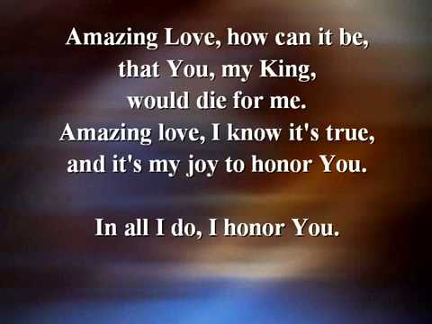 You Are My King Amazing Love   Karaoke