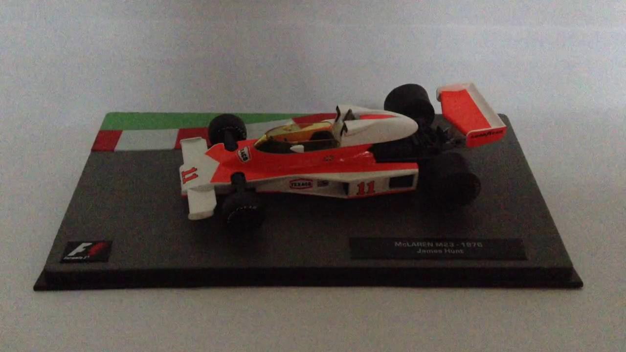 formula 1 the car collection mclaren m23 1976 james hunt - youtube
