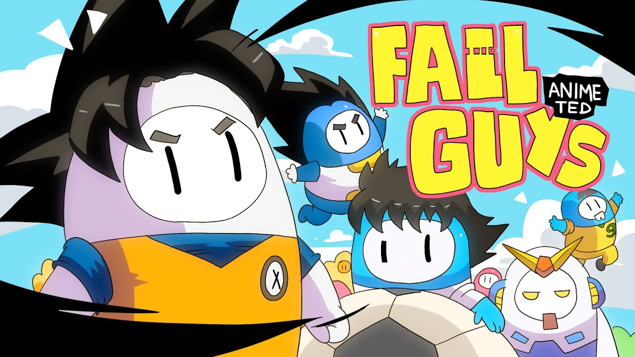 Download FALLGUYS ANIME TED