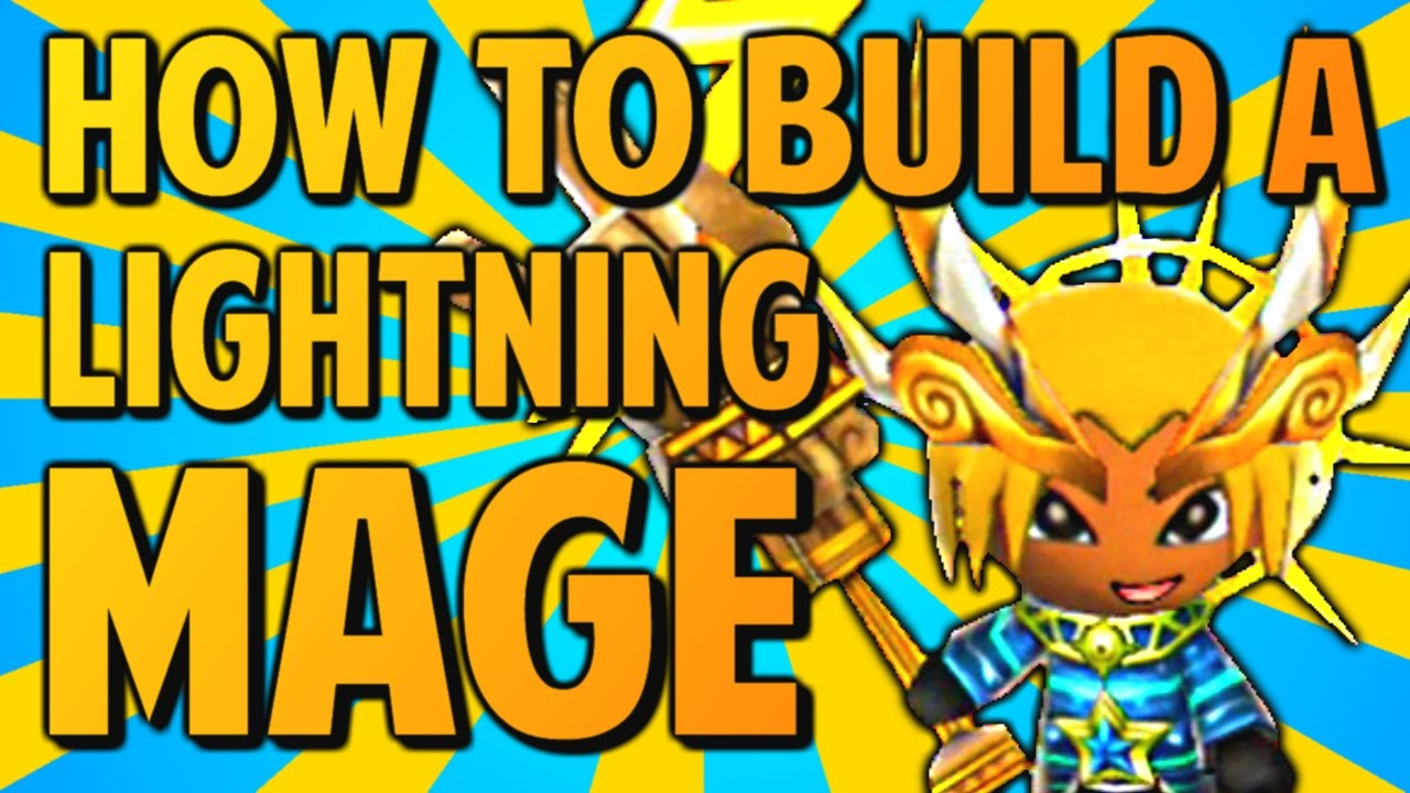 How To Build A Lightning Mage Happy Wars Tips Youtube