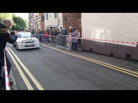 Ford Escort RS Cosworth at Donington Historic Festival parade 2016