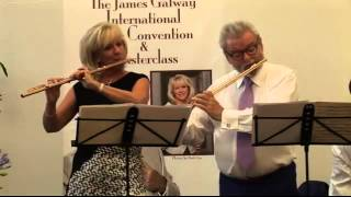 Shenandoah arr. McTee - World Premiere Sir James _ Lady Galway with Michael McHale