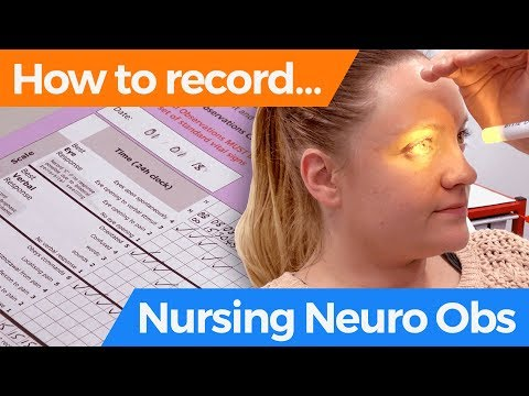 How to record Nursing Neuro Obs - YouTube
