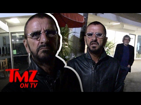 Ringo Starr: The Beatles Are Bigger Than Justin Bieber   TMZ TV