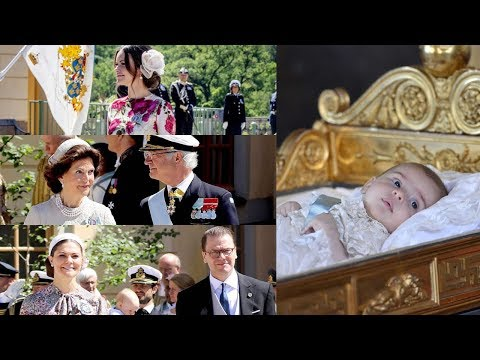 Princess Adrienne's Christening (2018.06.08)