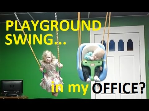 A  PLAYGROUND SWING in my OFFICE??? - Jackie and Kevin Hunter