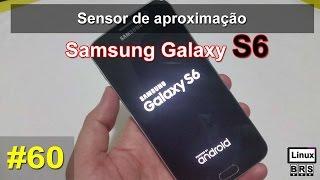 Samsung Galaxy S6 - Sensor de aproximação - Português