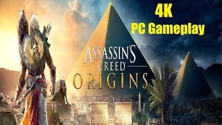 Assassin's Creed Origins - 4K PC Gameplay Max Settings