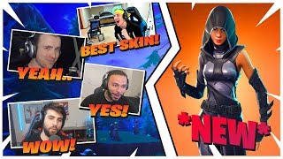 Ninja *REACTS* to *NEW* FATE SKIN + DrLupo, Tsm Hamlinz, SypherPK, NICKMERCS | Fortnite Daily EP.21