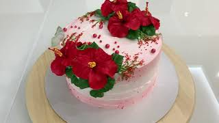 ТАКИЕ ЦВЕты я ещё НЕ ДЕЛАЛА Красивый торт