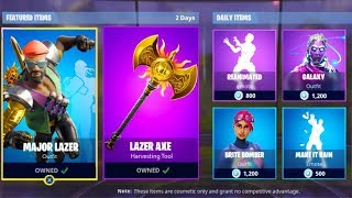 How To Get The MAJOR LAZAR BUNDLE FREE!?? -Fortnite Battle Royale