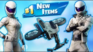 NEW Motorcycle Skins & Glider! Fortnite Live Stream!