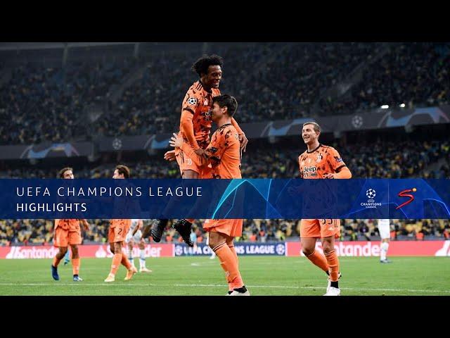UEFA Champions League | Dynamo Kyiv v Juventus | Highlights