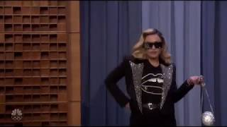 Madonna Dancing With Jimmy Fallon