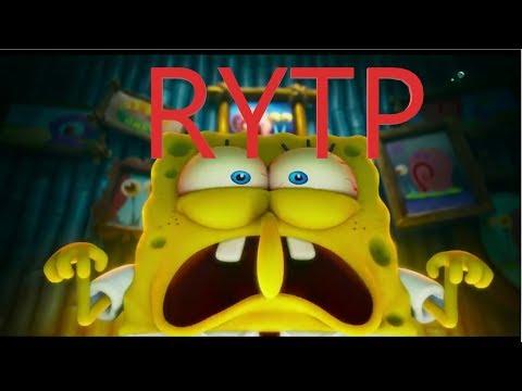 Губка Боб в бегах  трейлер ( RYTP )