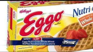 Kellog's recalls Eggo waffles