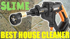 BEST HOUSE CLEANER - WORX CORDLESS HYDROSHOT - Tile Grout Windows Shower Kitchen Bathroom - REVIEW