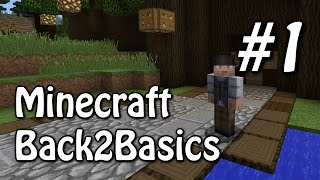 Back2Basics #1 - Travellers Path and 3x3 Spiral Door (Minecraft 1.8.1)