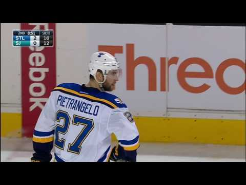Gotta See It: Thornton gets game misconduct for spearing Stastny