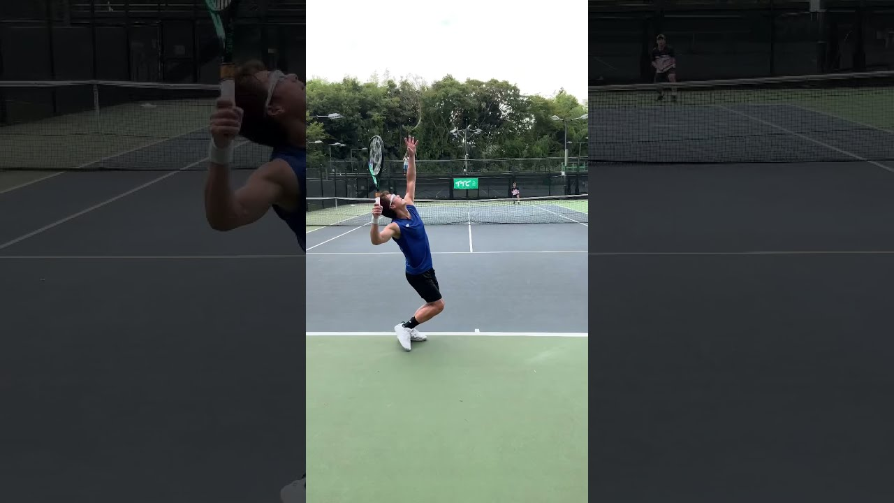 【テニス】現役最年長ATPランカー松井俊英プロの進化するサーブ