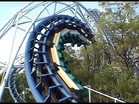 banshee roller coaster real pov kings island ohio 2014