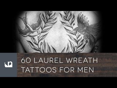 60 Laurel Wreath Tattoos For Men