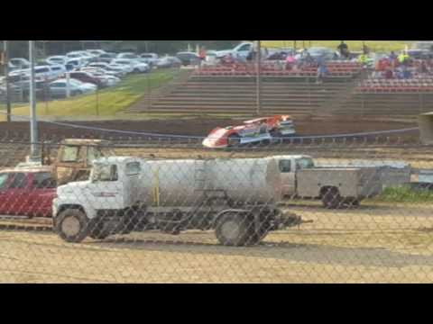 Quincy Raceways  heat race  6-19-16