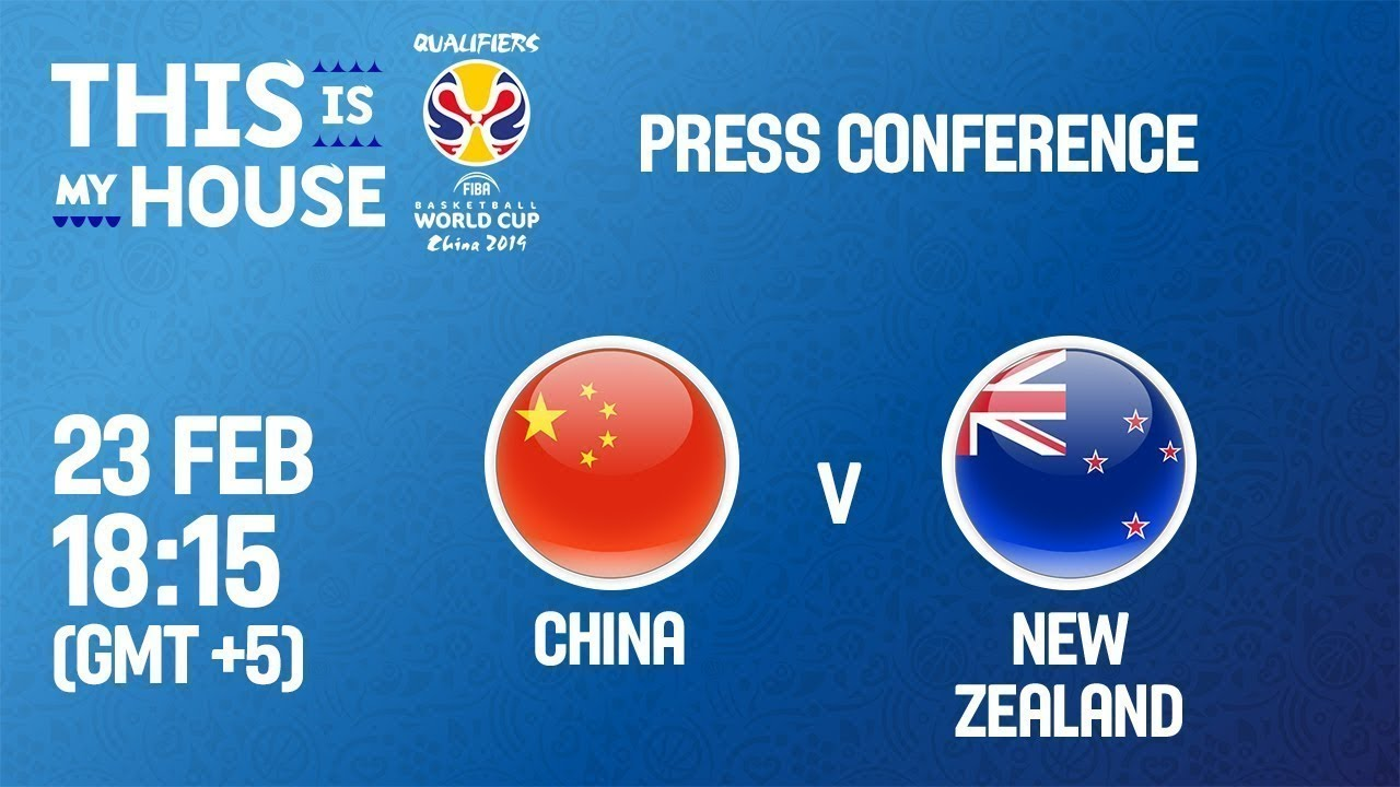 China v New Zealand - Press Conference - FIBA Basketball World Cup 2019 - Asian Qualifiers