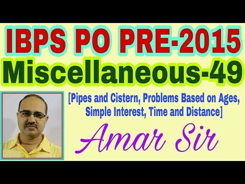 IBPS PO PRE-2015 Miscellaneous Questions-49 #Amar Sir
