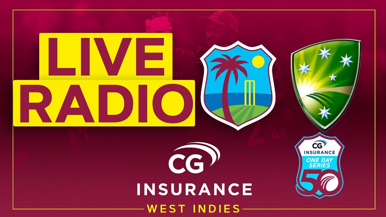 🔴LIVE RADIO | West Indies v Australia | 2nd CG Insurance ODI