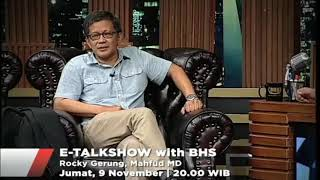 Download Video Prof Mahmud Md & Prof Rocky Gerung @E-talkshow TV ONe MP3 3GP MP4