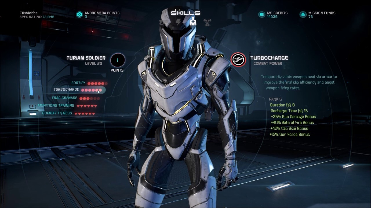 Human Soldier Build Mass Effect