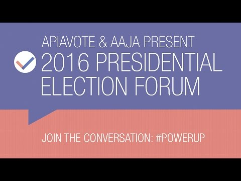 2016 Presidential Election Forum (Live)