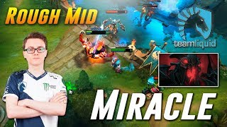 Miracle Shadow Fiend Rough Mid Action - TOP MMR Gameplay Dota 2