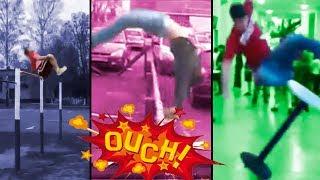 si eres impresionable no veas este video caidas y golpes nadie muere   shocking fails