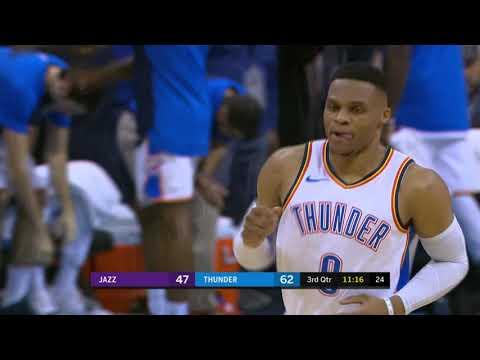 Utah Jazz vs Oklahoma City Thunder | December 10, 2018