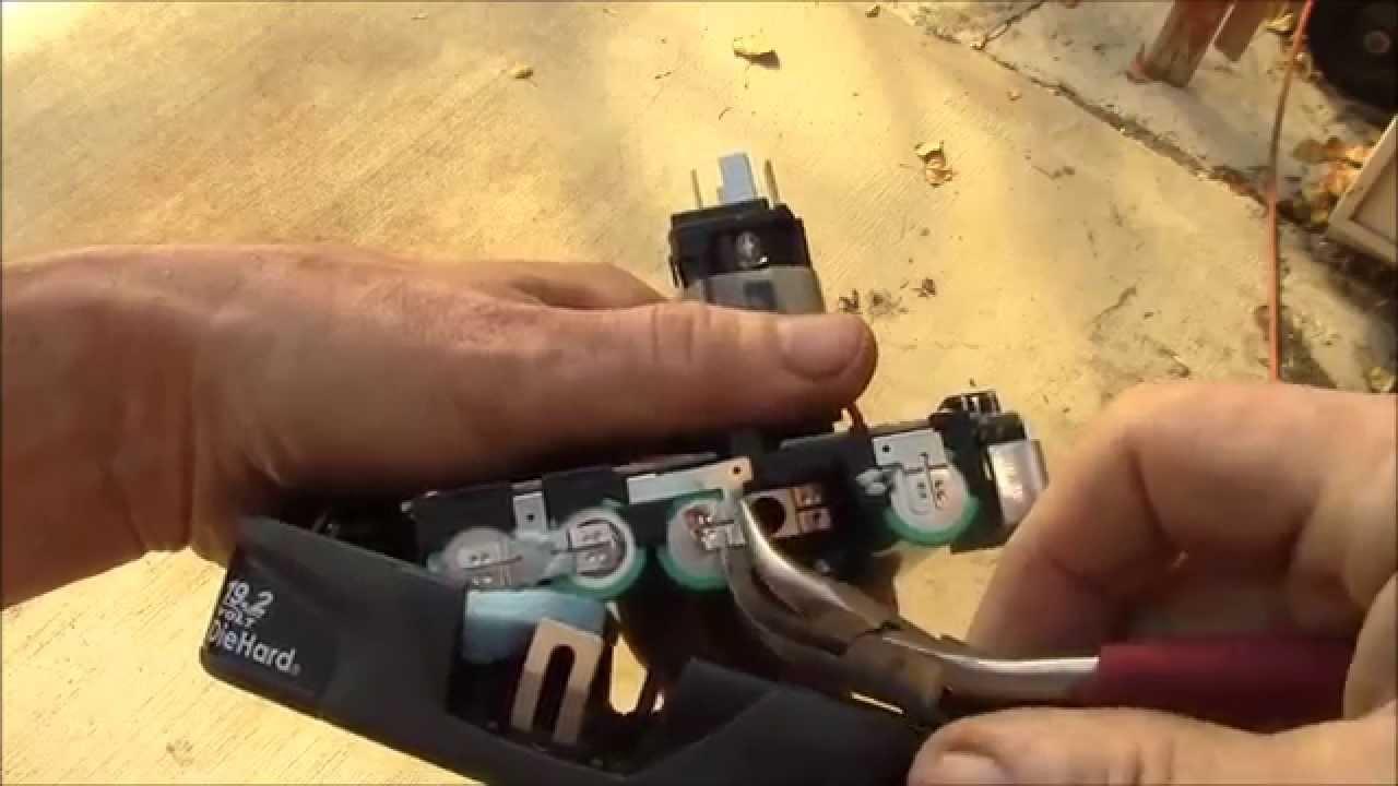 Craftsman C3 Battery Repair Part 1 Youtube
