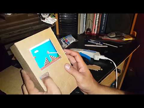 Cardboard Gameboy (Quick How To)